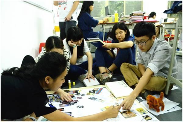 杨一钦同学在AIP课堂上参与集体创作