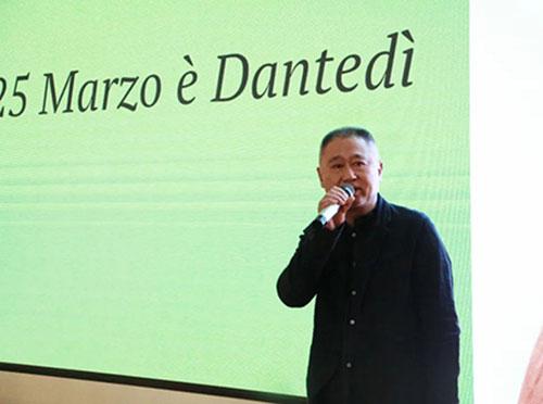 广州美院附中副校长张伟为活动献上了精彩的开幕词