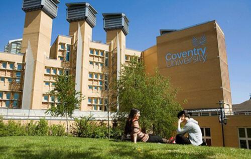 英国考文垂大学校园环境图