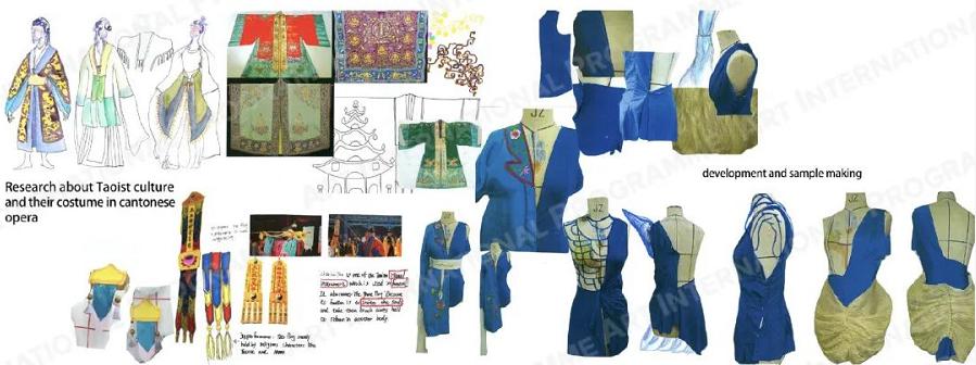 【学生专访】我有着拥抱全英国戏服设计专业的热情